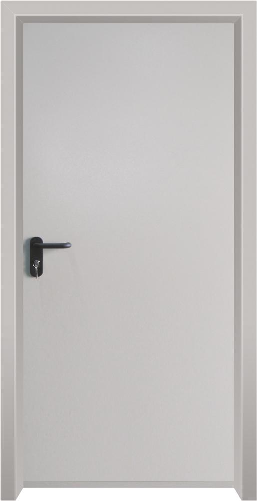 עידן דלתות - IDAN DOORS - קלאסי - דלת מחסנים בהיר