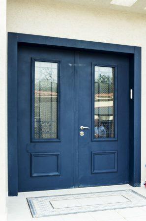 עידן דלתות - IDAN DOORS - פרויקט משפחת אליאס - דלת חיצונית