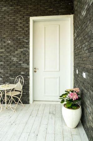 עידן דלתות - IDAN DOORS - פרויקט משפחת ברדה - דלת כניסה
