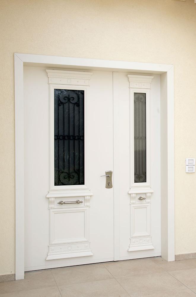 עידן דלתות - IDAN DOORS - פרויקט משפחת סער - דלת ראשית