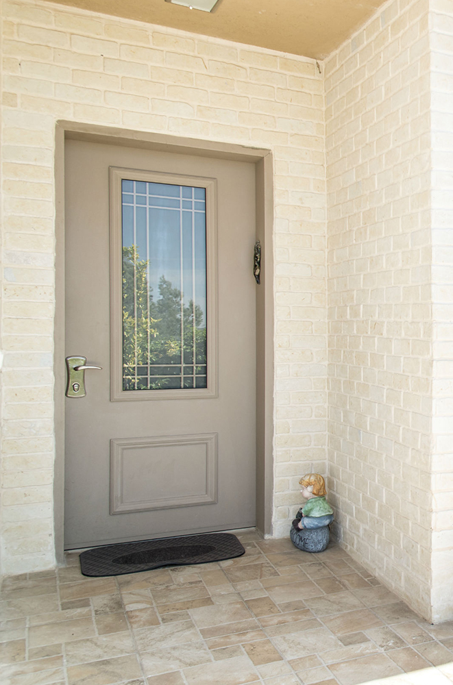 עידן דלתות - IDAN DOORS - פרויקט משפחת מורד - דלת כניסה