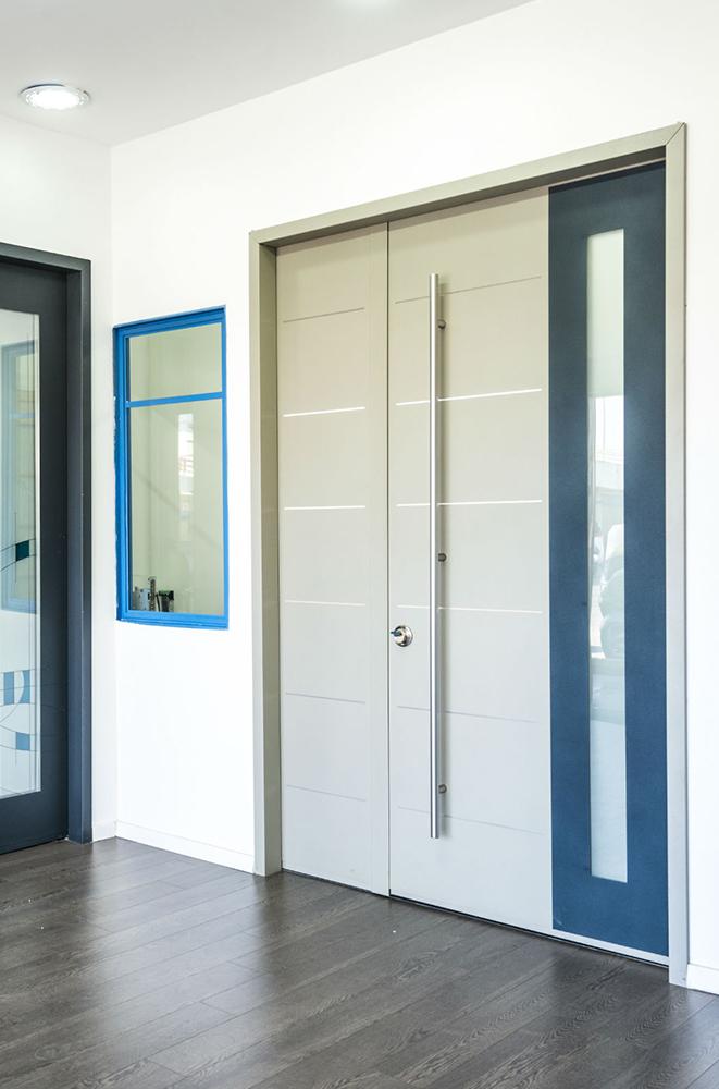 עידן דלתות - IDAN DOORS - פרויקט אולם תצוגה - קטלוג מוצרים