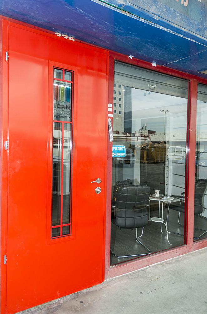 """עידן דלתות - IDAN DOORS - פרויקט אולם תצוגה ראשל""""צ"""