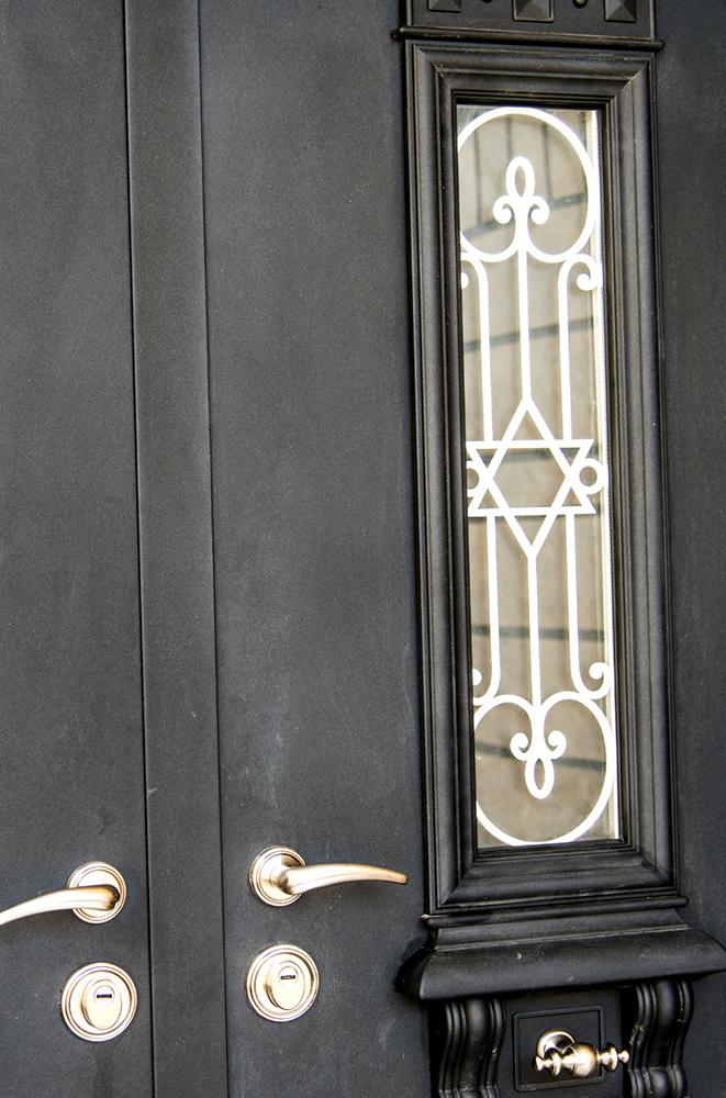 """עידן דלתות - IDAN DOORS - פרויקט בית כנסת """"עולי בבל"""" - דלת חוץ"""